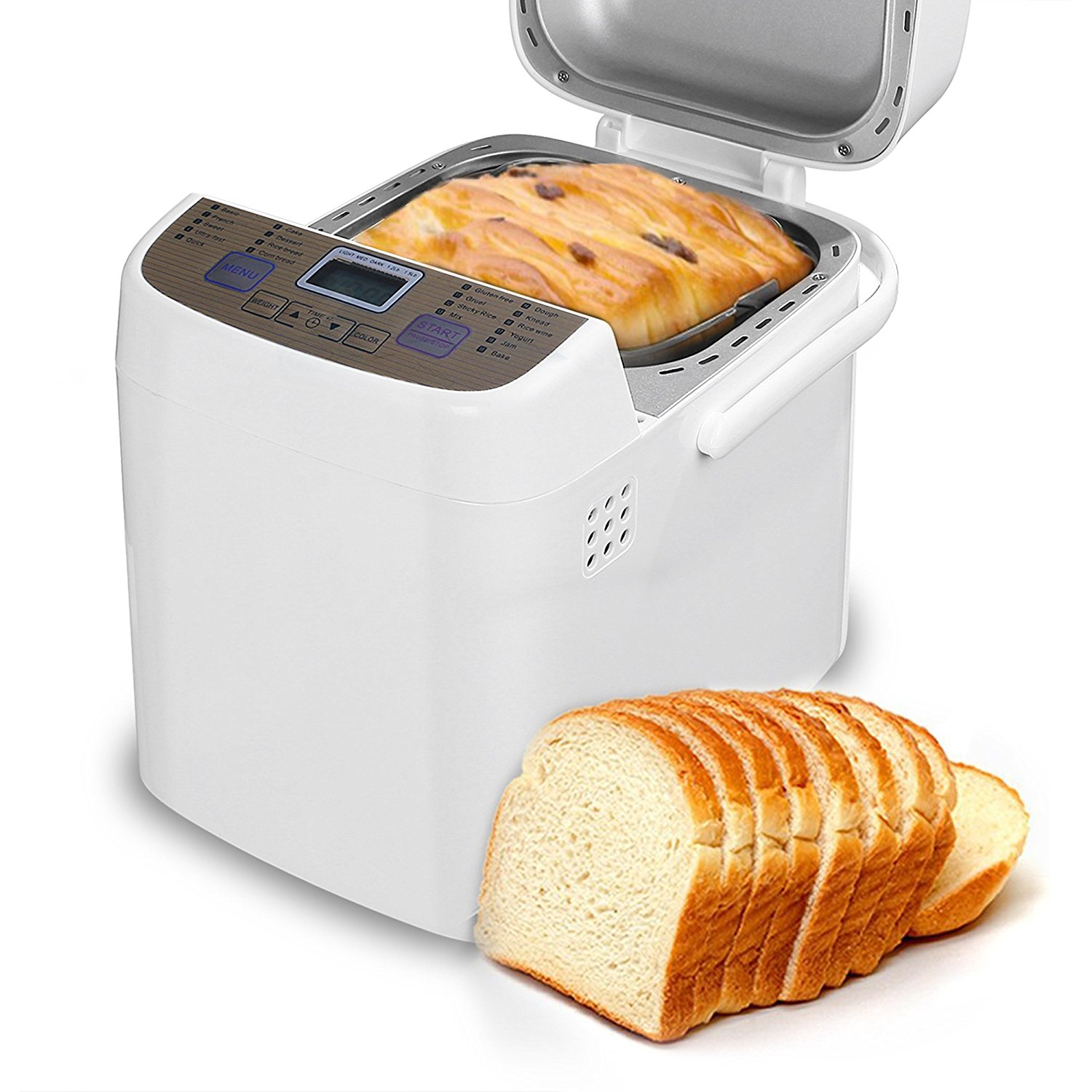 COSVII Programmable Bread Machine Review | Best Bread ...